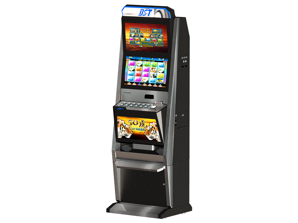 21 5 dual monitor Luxury gambling cabinet - Bill acceptor